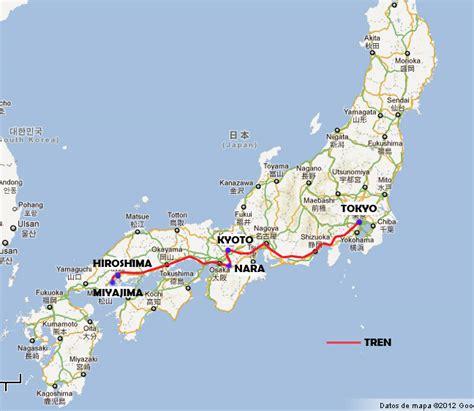 Mapa-ruta-de-Japon   El viaje de tu vida