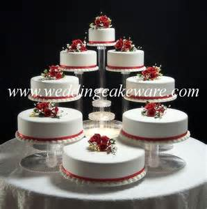 cake stand wedding 8 tier cascading wedding cake stand stands set