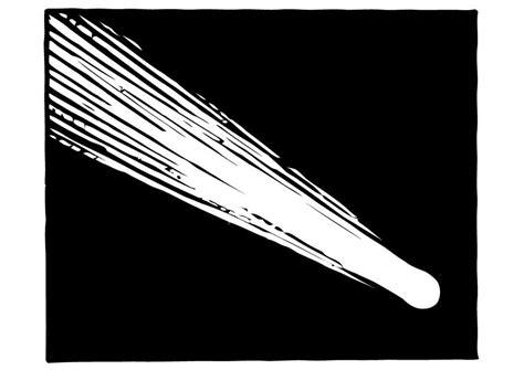 malvorlage komet ausmalbild