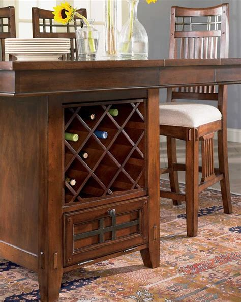 dining room table set vantana seven counter height table and chair set by