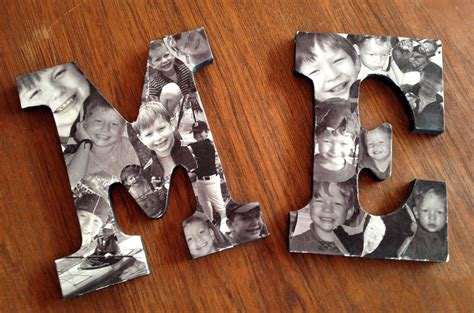 letter picture collage 32 photo collage diys for a more beautiful home 91240