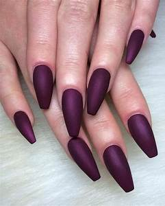 Dark purple Nails - image #4088875 by winterkiss on Favim.com