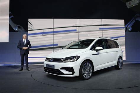Vwvortex All New 2016 Volkswagen Touran Revealed On The Mqb Platform
