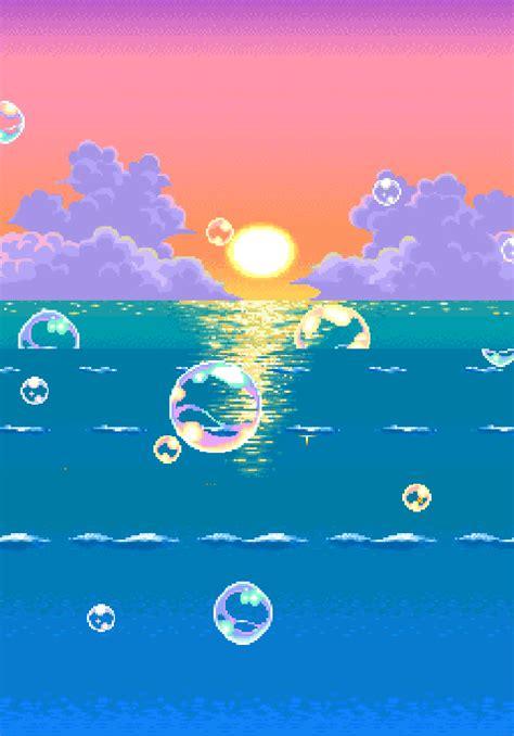 pixel landscape tumblr