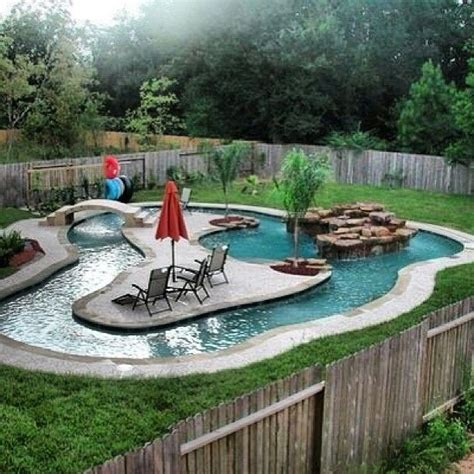 Backyard Pool With Lazy River by Homes With Lazy River Pools When Image Results