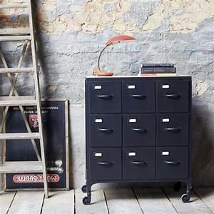Commode Style Industriel : le style industriel par tikamoon ~ Teatrodelosmanantiales.com Idées de Décoration