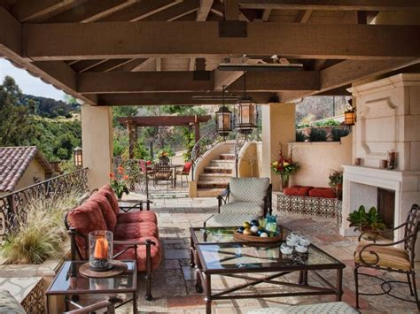 Outdoor Spaces :  Ideas For Outdoor Rooms