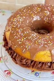 Giant Donut Birthday Cake