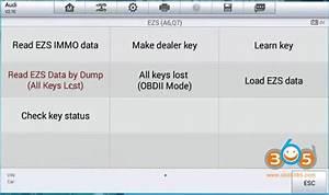 Auro Otosys Im600 Program Audi A6 2011 All Keys Lost On Bench