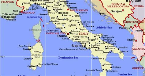 Explore malta holidays and discover the best time and places to visit. Image detail for -Political Map of Italy and Malta - World ...