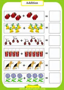 Kindergarten Math Addition Worksheets