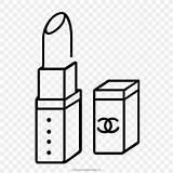 Coloring Drawing Lipstick Prints Favpng sketch template