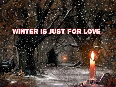 Winter Love Desktop Wallpaper