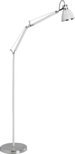 Stehlampe Halogen E27 40 W Brilliant Octavia 9273675 Weiß