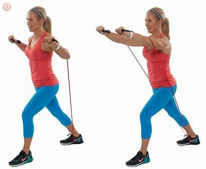 Resistance Chest Band Press Workout Exercise Upper