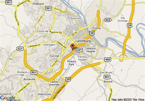 lynchburg virginia offender map is map of econo lodge lynchburg lynchburg