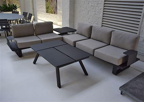 canape d angle 8 10 places salon d 39 angle de jardin en aluminium anthracite coussins