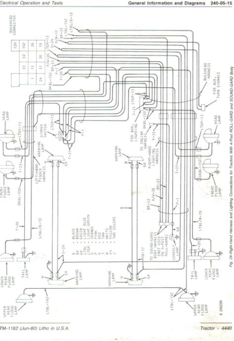 Deere 4440 Wiring Diagram by Viewing A Thread 4440 Wiring Diagram