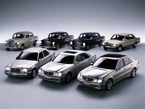 Cars Mercedes-benz Old Classic Modern Black Motors