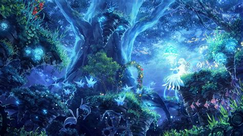 Beautiful Magical Wallpaper by Trippy Forest Wallpaper 56 Images