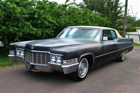 1969 Cadillac Deville Coupe 472 V8 Engine Power Steering