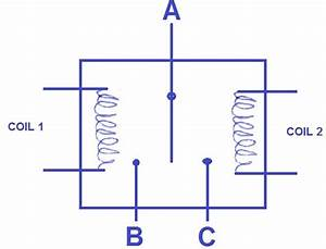 Two Coil Relay
