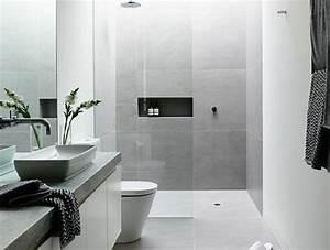 les 25 meilleures idees concernant carrelage gris With carrelage salle de bain clair