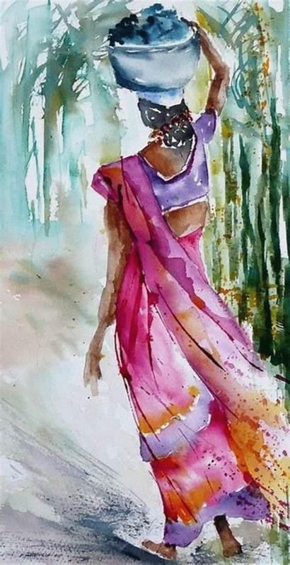 Watercolor Beginners Paintings Watercolour Easy Drawings Beginner