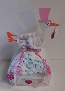 Geschenk Für Taufe Mädchen : windeltorte windelb ndel rosa babygeschenk taufgeschenk mitbringsel m dchen windeltorten und ~ Frokenaadalensverden.com Haus und Dekorationen