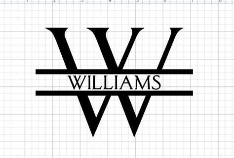 split letter monogram tutorial  cricut design space cricut monogram monogram letters