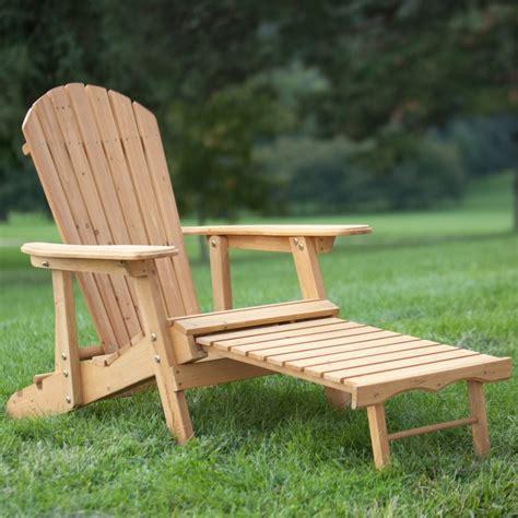 Adirondack Chair Ottoman  Home Furniture Design
