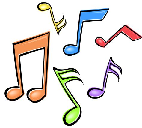 Color Music Notes Clipart 20 Free Cliparts Download