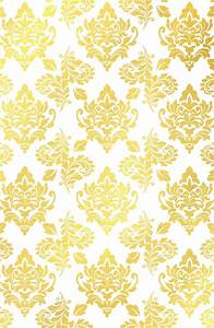 Buy Gold foil damask pattern gold damask Art Print by ...