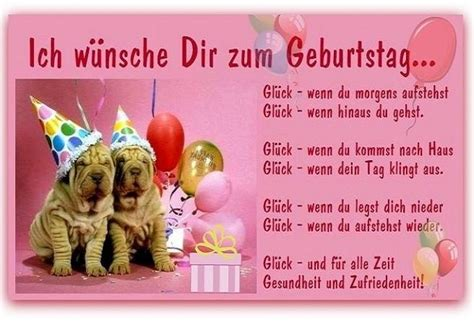 Ich Wünsche Dir Zum Geburtstag... Glück
