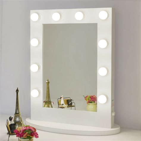 Vanity Lighted Mirrors - makeup mirror with lights aluminum vanity