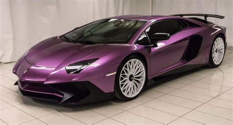 Purple Lamborghini Aventador SV Perfect For The Refined ...