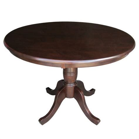 "36"" Round Dining Table in Rich Mocha   K15 36RT"