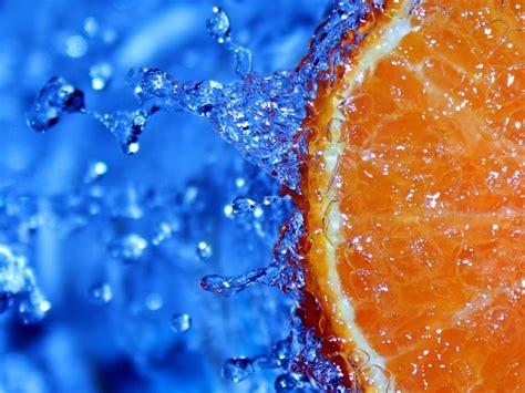 orange slice wallpaper