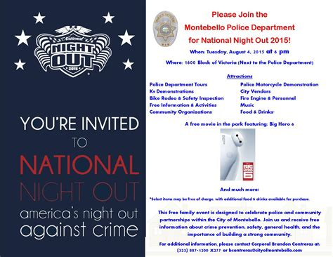 national out flyer template montebello athletic activities league paal tuesday august 4th is national