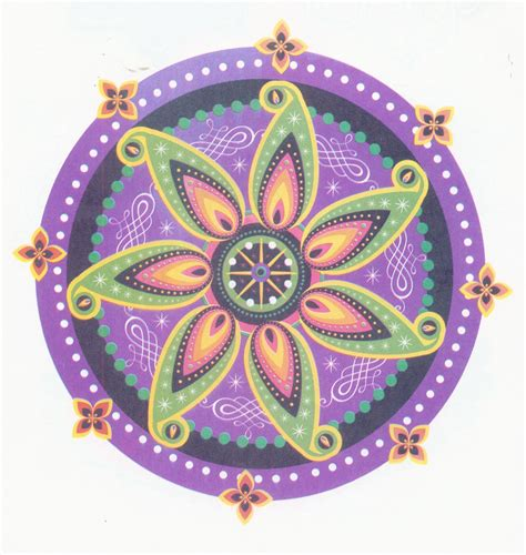 Rangoli Design Best Wishes Hd Wallpapers