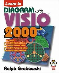 Learn To Diagram With Visio 2000 By Ralph Grabowski  2000