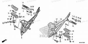 Honda Motorcycle 2019 Oem Parts Diagram For Step