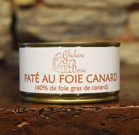 pate de canard au foie gras en conserve p 226 t 233 au foie gras foie gras ghislaine borie