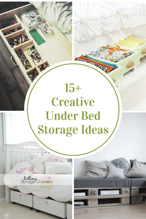 ideas for a small living room creative bed storage ideas the idea room