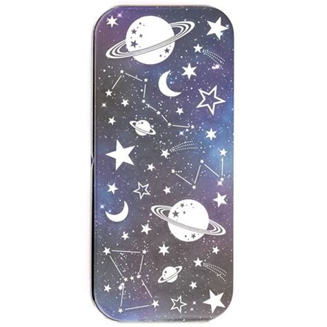 Product Of The Week A Beautiful Space Themed Set Made Of Wood Magnets by Beautiful Space Themed Pencil Tin With Sticker