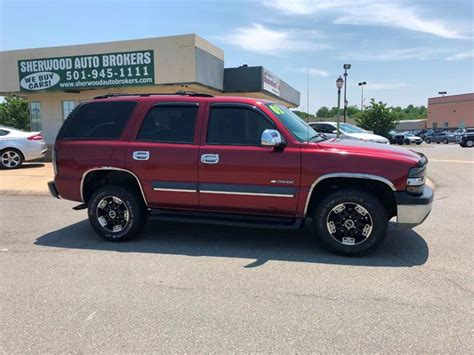 Chevrolet Sherwood by 2003 Chevrolet Tahoe Ls 4dr Suv In Sherwood Ar Sherwood