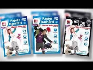 Papier Transfert Tee Shirt : papier transfert textiles micro application youtube ~ Melissatoandfro.com Idées de Décoration
