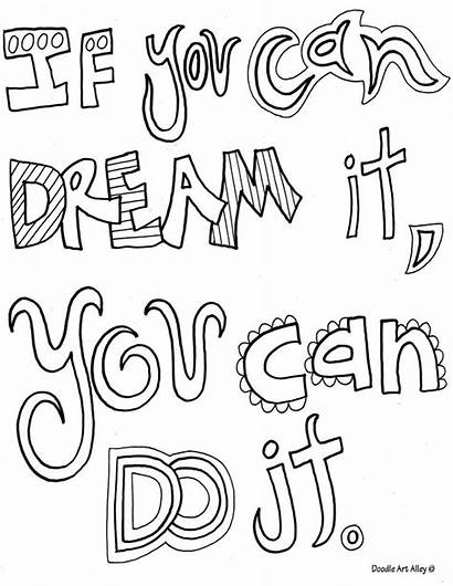 Coloring Pages Quotes Positive Inspirational Quote Quotesgram