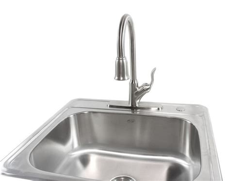oversized kitchen sinks 25 inch top mount drop in stainless steel kitchen island 1347