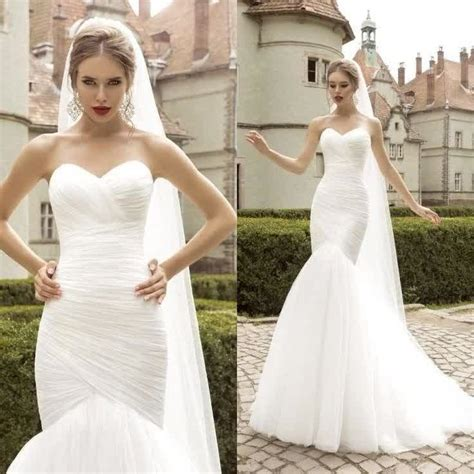wedding dress tight fitting